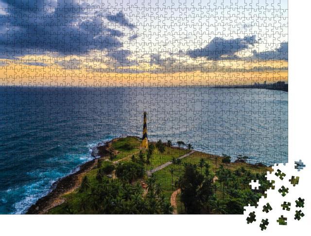 """Puzzle 1000 Teile """"Leuchtturm Santo Domingo"""""""