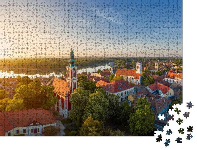 """Puzzle 1000 Teile """"Stadt Szentendre an der Donau"""""""