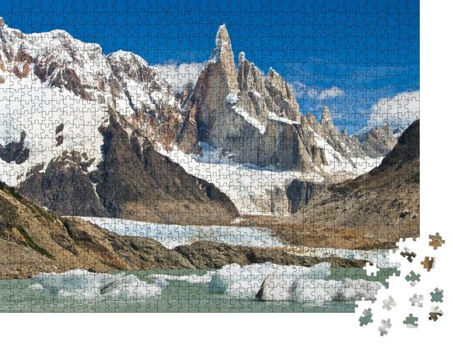 """Puzzle 1000 Teile """"Cerro Torre, Los Glaciares National Park, Patagonien, Argentinien"""""""