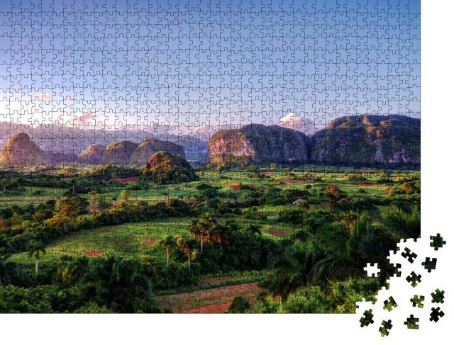 """Puzzle 1000 Teile """"Kuba Vinales"""""""
