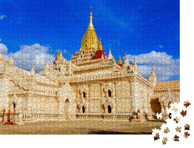 """Puzzle 1000 Teile """"Ananda-Tempel in Bagan, Myanmar"""""""