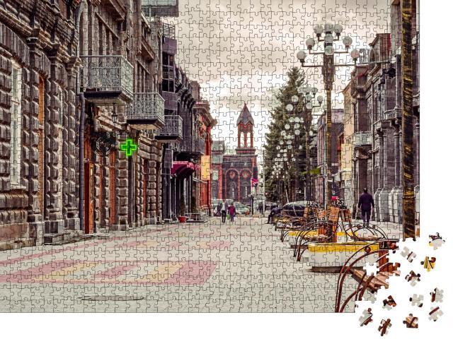 """Puzzle 1000 Teile """"Historische Stadt Gyumri in Armenien"""""""