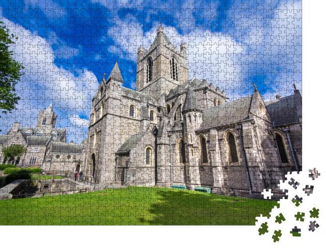 """Puzzle 1000 Teile """"Dublin: Schöne Christ Church, Irland"""""""