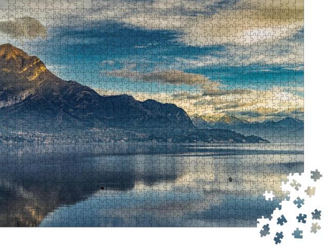 """Puzzle 1000 Teile """"Lago di Como, Comer See"""""""
