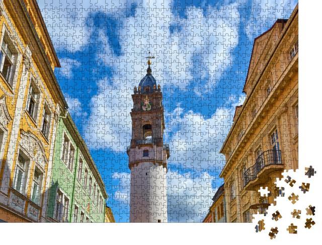 """Puzzle 1000 Teile """"Reichenturm in Bautzen, Deutschland"""""""