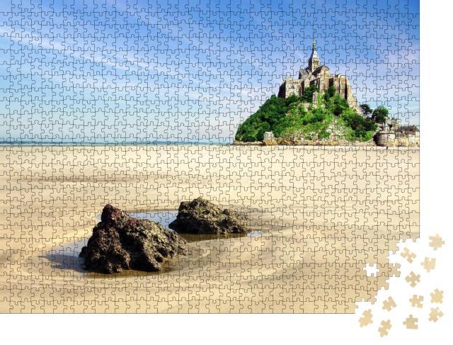 """Puzzle 1000 Teile """"Mont Saint Michel, Normandie"""""""