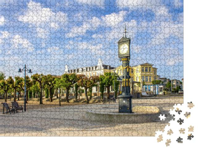 """Puzzle 1000 Teile """"Ahlbeck, Insel Usedom, Deutschland"""""""