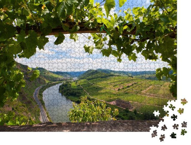 """Puzzle 1000 Teile """"Panoramablick auf das Moseltal in Deutschland"""""""