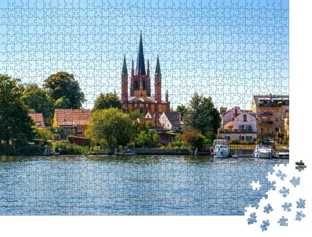 """Puzzle 1000 Teile """"Blick auf Werder an der Havel in Brandenburg, Deutschland"""""""