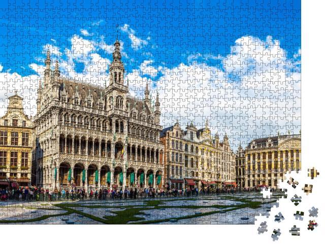 """Puzzle 1000 Teile """"Der Grand Place in Brüssel, Belgien"""""""