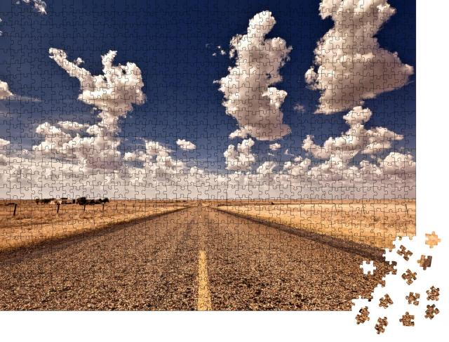 """Puzzle 1000 Teile """"Road Tripping"""""""
