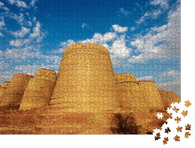 """Puzzle 1000 Teile """"Historische Festung von Derawar"""""""