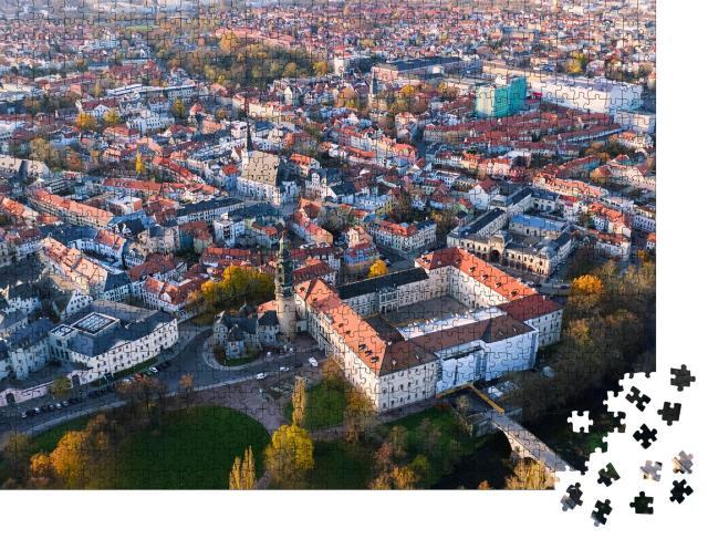 """Puzzle 1000 Teile """"Panoramablick auf Weimar, Deutschland"""""""