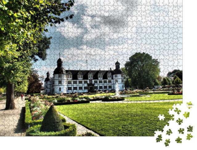 "Puzzle 1000 Teile ""Schloss Neuhaus bei Paderborn"""