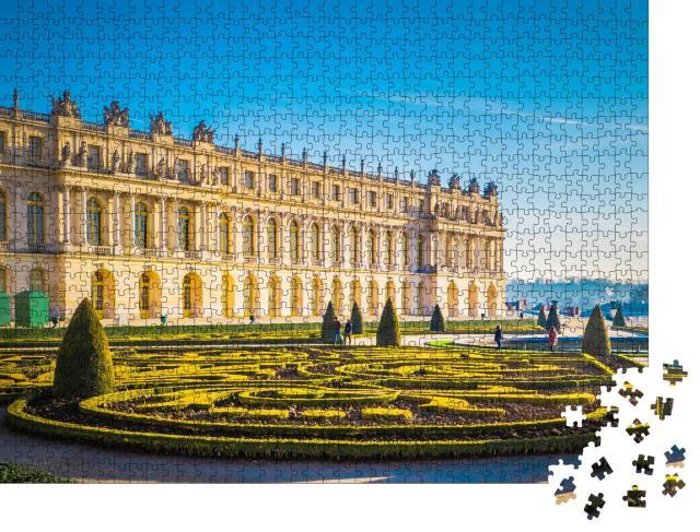 """Puzzle 1000 Teile """"Versailles mit schönen Gärten, Weltkulturerbe in Frankreich"""""""