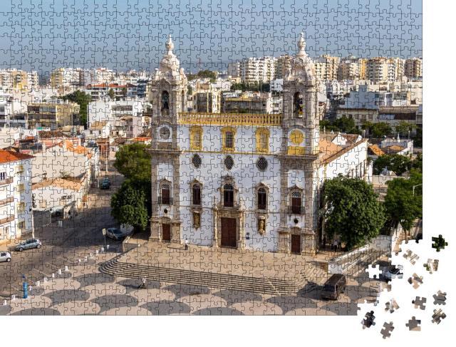 """Puzzle 1000 Teile """"Kathedrale in der Altstadt von Faro, Portugal"""""""