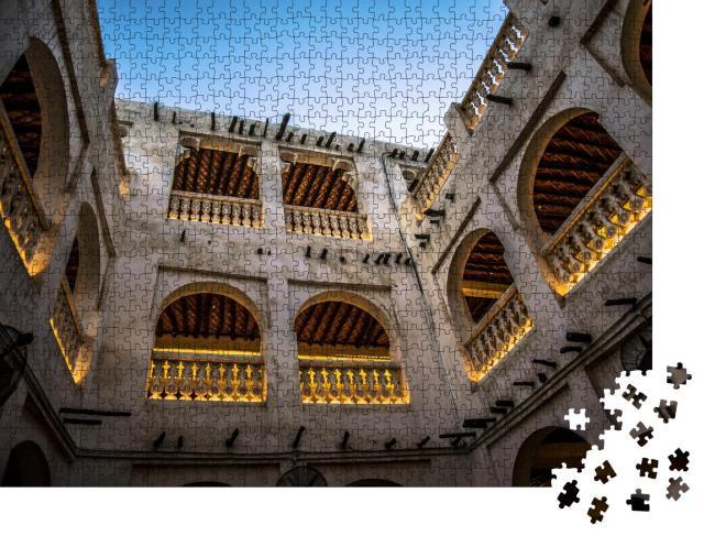 """Puzzle 1000 Teile """"traditionelles Gebäude"""""""