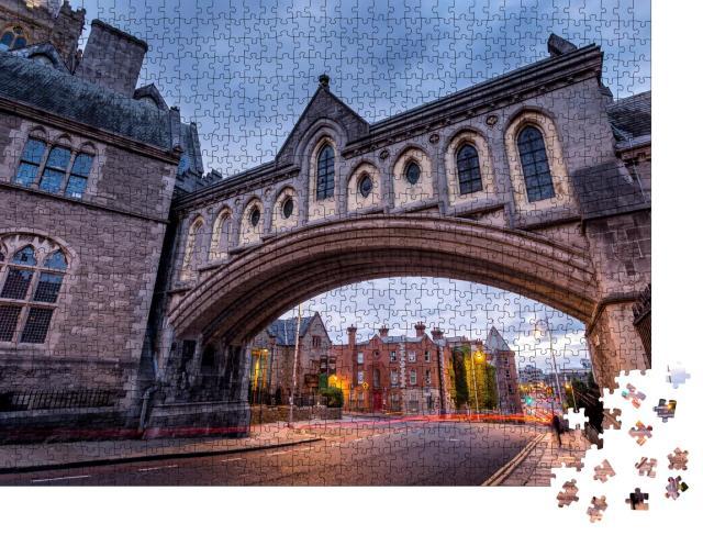 """Puzzle 1000 Teile """"Dublin: stolze Hauptstadt von Irland"""""""
