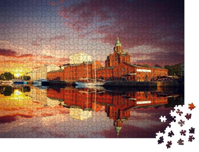 "Puzzle 1000 Teile ""Uspenski Kathedrale in Helsinki, Finnland"""