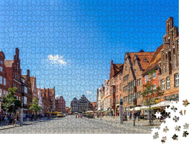 """Puzzle 1000 Teile """"Lüneburg"""""""