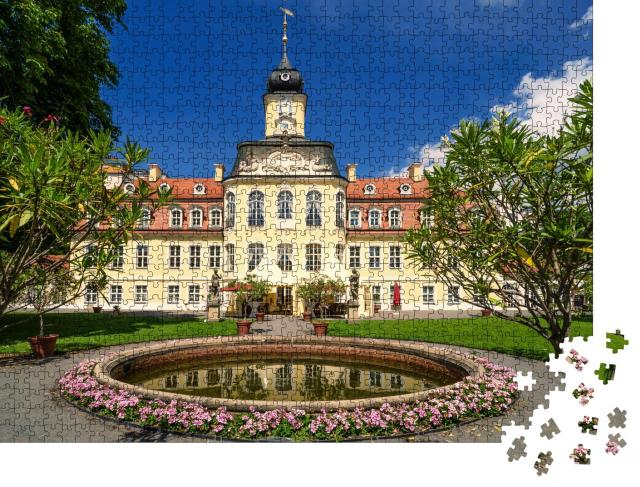 """Puzzle 1000 Teile """"Schloss Gohlis, ein historisches Gebäude, Leipzig, Deutschland"""""""