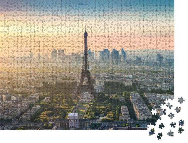 """Puzzle 1000 Teile """"Paris am Morgen"""""""