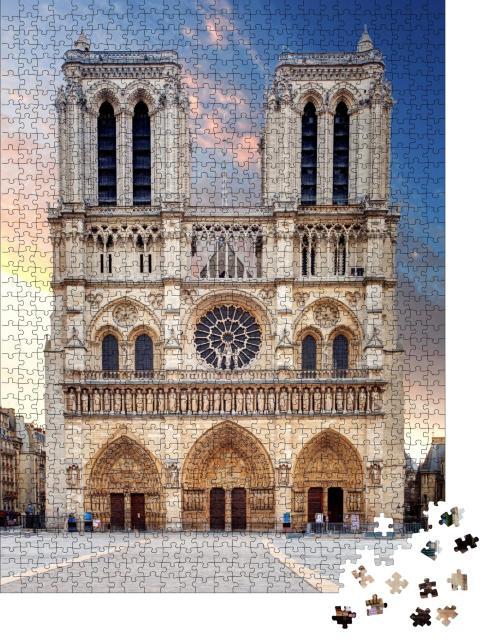 """Puzzle 1000 Teile """"Kathedrale Notre Dame, Paris"""""""