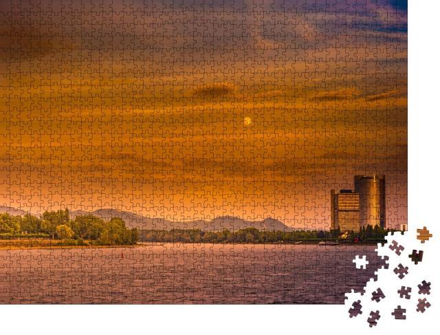 """Puzzle 1000 Teile """"Bundesregierungsbezirk in Bonn, Deutschland"""""""