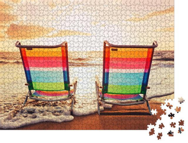 """Puzzle 1000 Teile """"Strandfeeling auf Hawaii"""""""