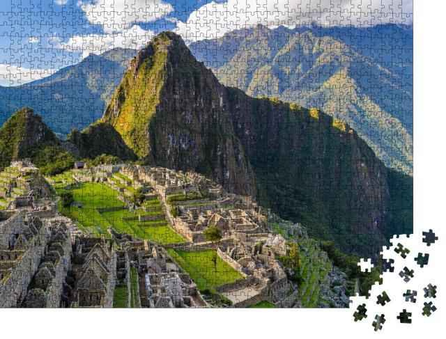 """Puzzle 1000 Teile """"Machu Picchu, Weltkulturerbe, Peru"""""""
