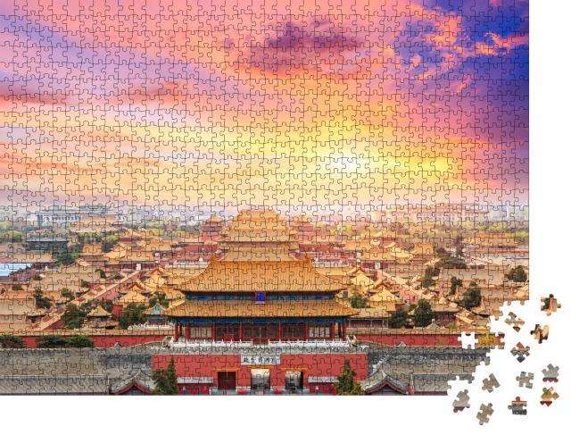 """Puzzle 1000 Teile """"Peking, die verbotene Stadt"""""""