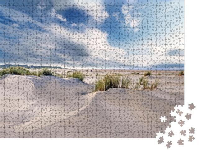 """Puzzle 1000 Teile """"Wunderschöne Dünen auf Langeoog, Nordsee, Deutschland"""""""
