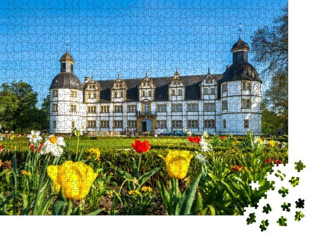"""Puzzle 1000 Teile """"Schloss Neuhaus bei Paderborn, Deutschland"""""""