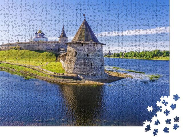 """Puzzle 1000 Teile """"Kreml in Pskow, Russland"""""""