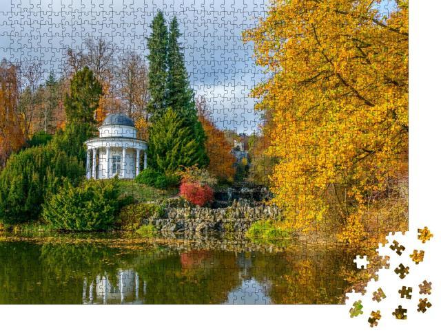 """Puzzle 1000 Teile """"Herkules-Denkmal im Bergpark Wilhelmshöhe, Kassel, Deutschland"""""""