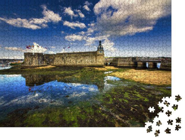 """Puzzle 1000 Teile """"Concarneau, Bretagne"""""""