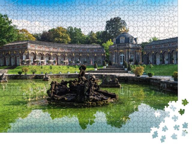 """Puzzle 1000 Teile """"Eremitage in Bayreuth, Deutschland"""""""