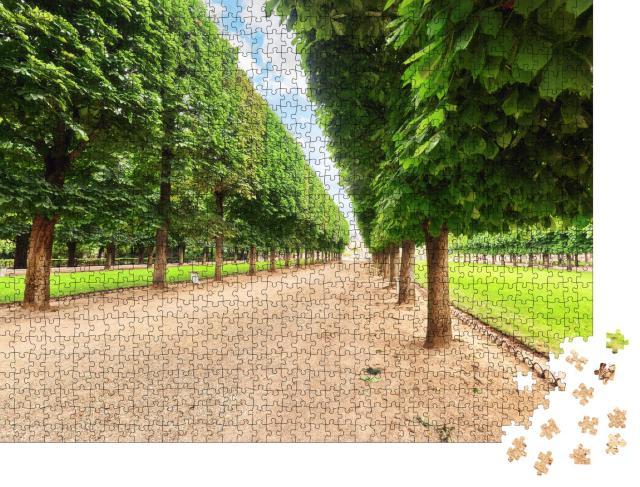 """Puzzle 1000 Teile """"Jardin du Luxembourg, einer der schönsten Gärten in Paris"""""""