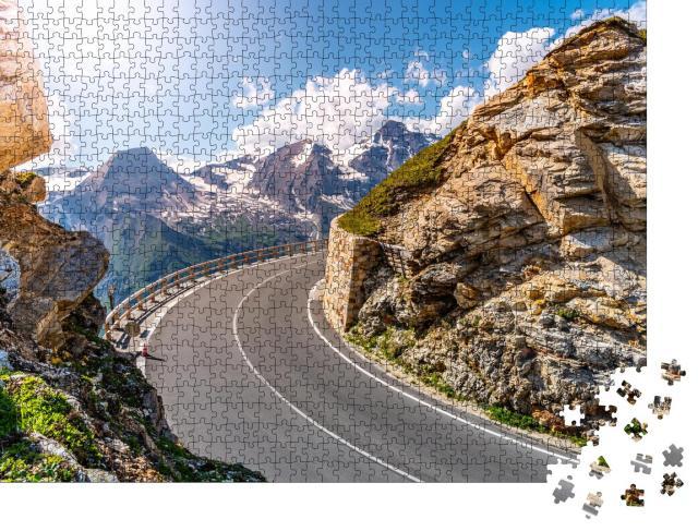 """Puzzle 1000 Teile """"Großglockner-Hochalpenstraße, Österreich"""""""