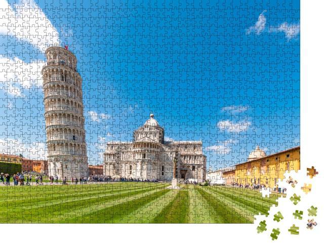 """Puzzle 1000 Teile """"Der schiefe Turm von Pisa"""""""