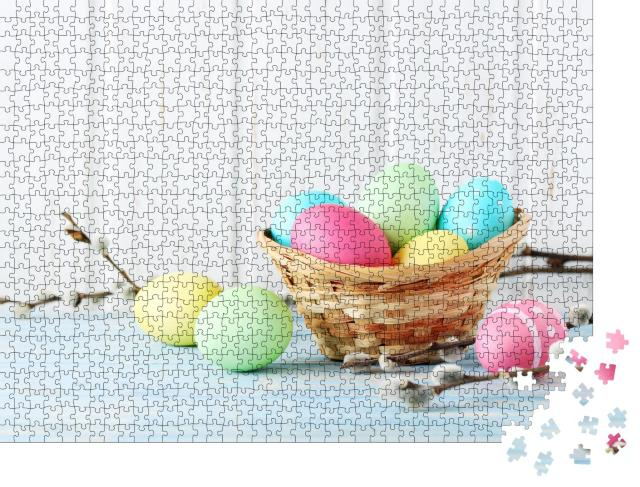 """Puzzle 1000 Teile """"Frohe Ostern!"""""""