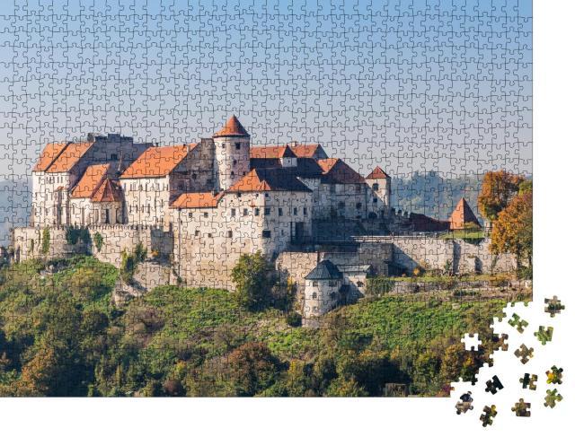 """Puzzle 1000 Teile """"Burg Burghausen, Bayern, Deutschland"""""""
