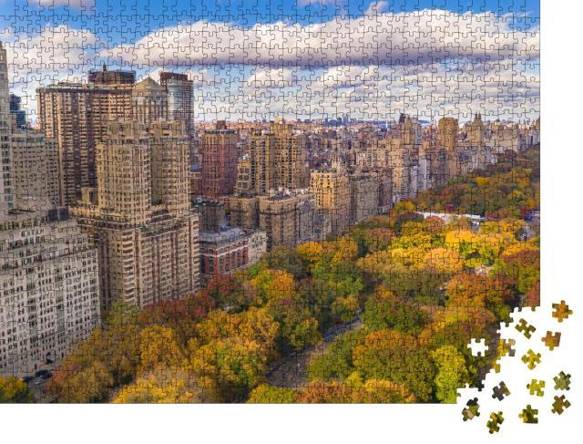 """Puzzle 1000 Teile """"Der Central Park mitten in Manhattan, New York"""""""