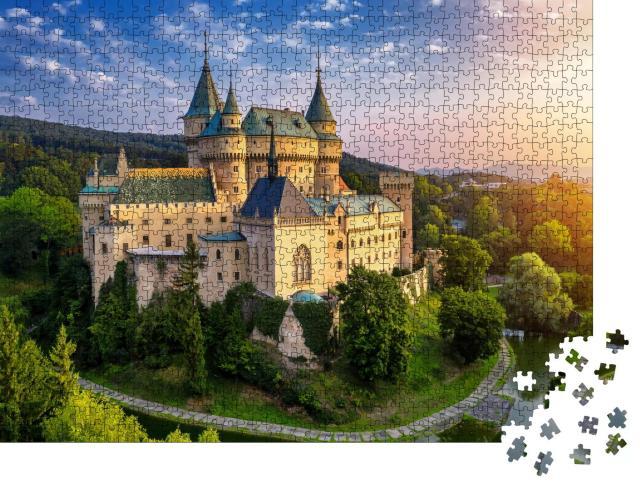 "Puzzle 1000 Teile ""Burg Bojnice, UNESCO-Weltkulturerbe,"""