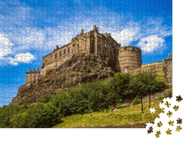 """Puzzle 1000 Teile """"Edinburgh Castle, Schottland, Großbritannien"""""""