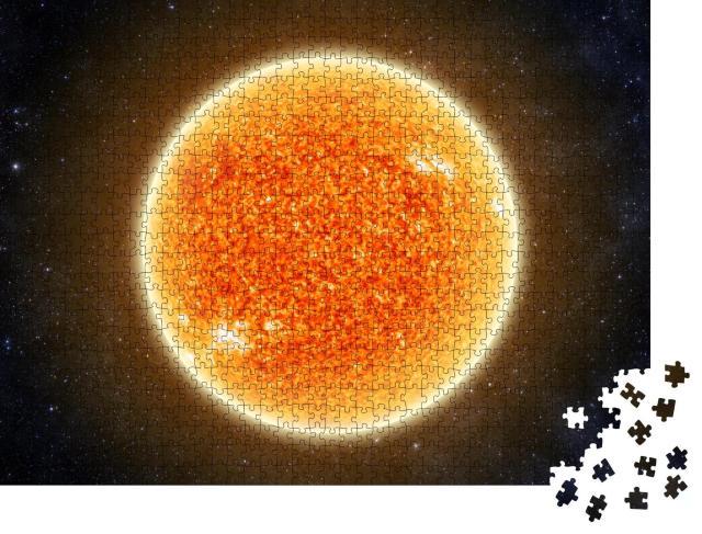"""Puzzle 1000 Teile """"Die Sonne"""""""