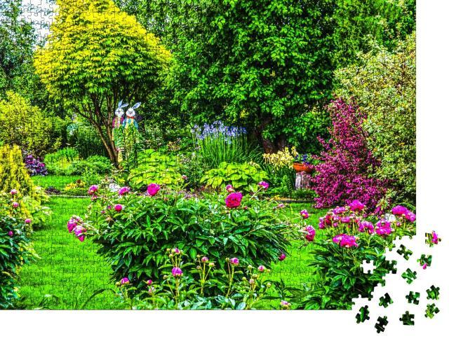 """Puzzle 1000 Teile """"Sommer im Garten"""""""