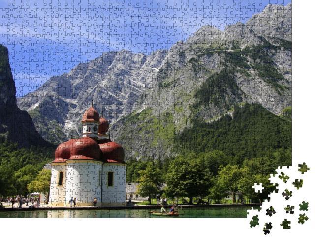 """Puzzle 1000 Teile """"Königssee"""""""