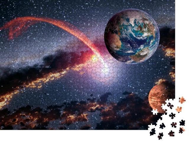 """Puzzle 1000 Teile """"Das Universium"""""""