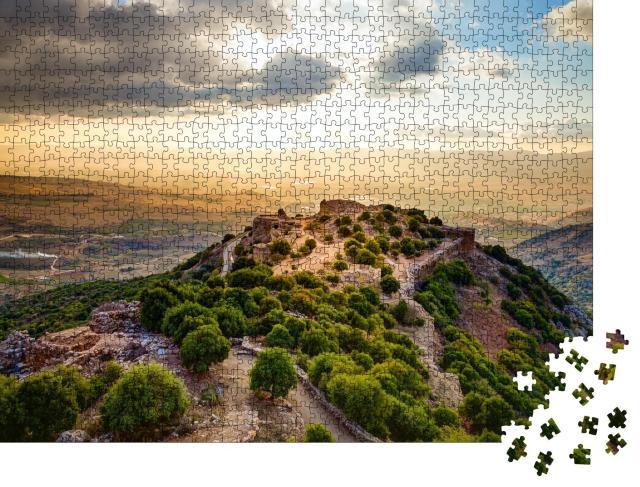 """Puzzle 1000 Teile """"Festung Nimrod in Israel"""""""